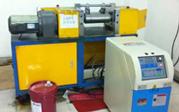 小开炼机(实验型开炼机)用辊筒油循环温度控制机应用