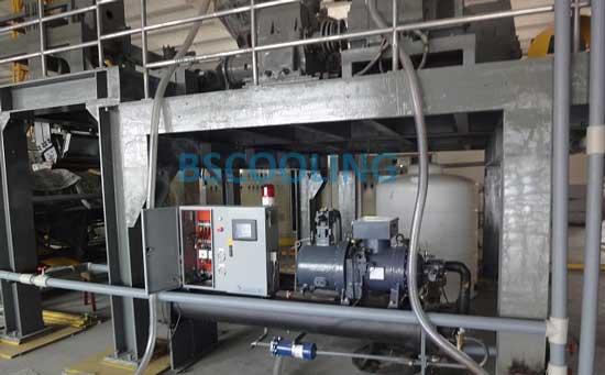 工业冷水机组应用于流延机冷却辊筒控温的特点
