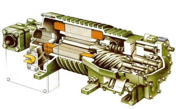 压缩机结构图